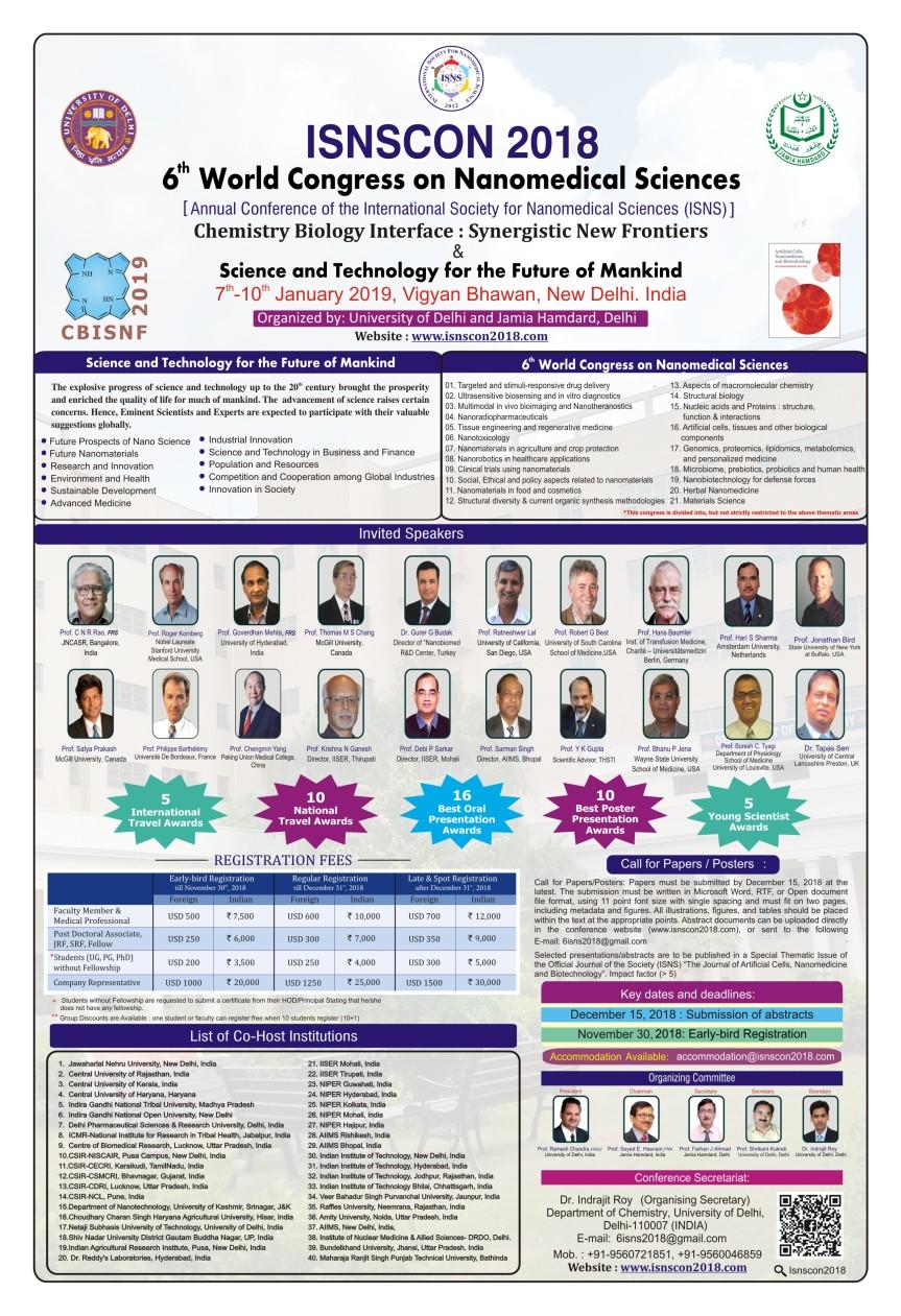 ISNSCON 2018 Poster